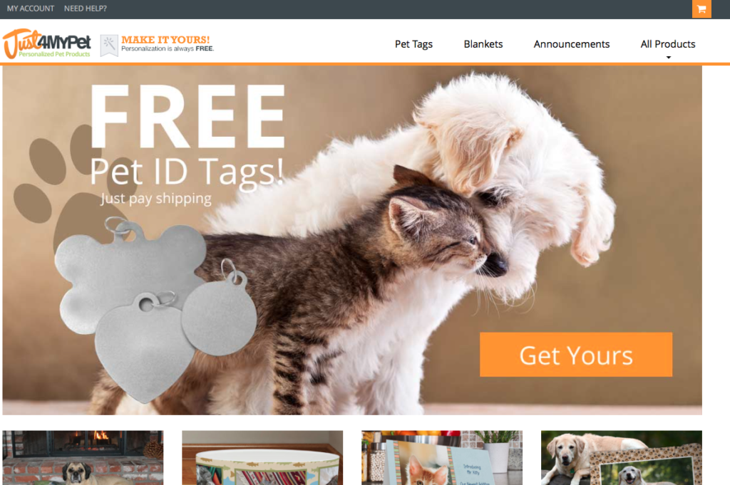 MailPix acquires pet photo personalization site Just4MyPet