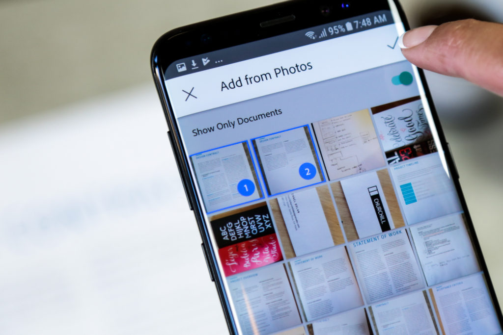 Adobe Scan app adds AI-driven organization features