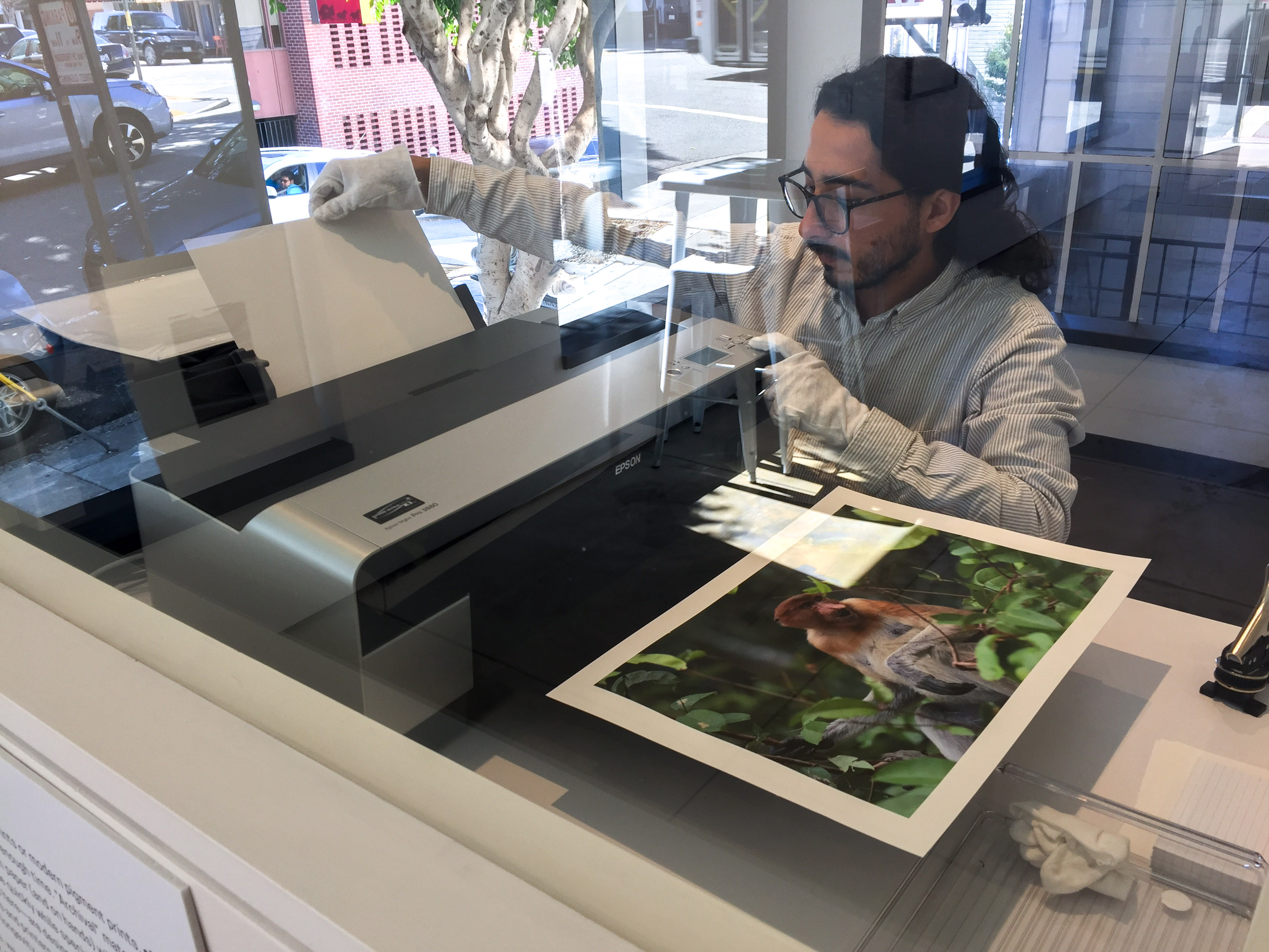 Neomodern concierge printing process