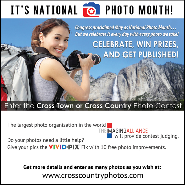 Enter National Photo Month Photo Contest