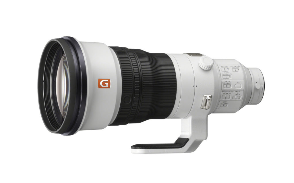 Sony introduces the 400mm F2.8 G Master prime lens