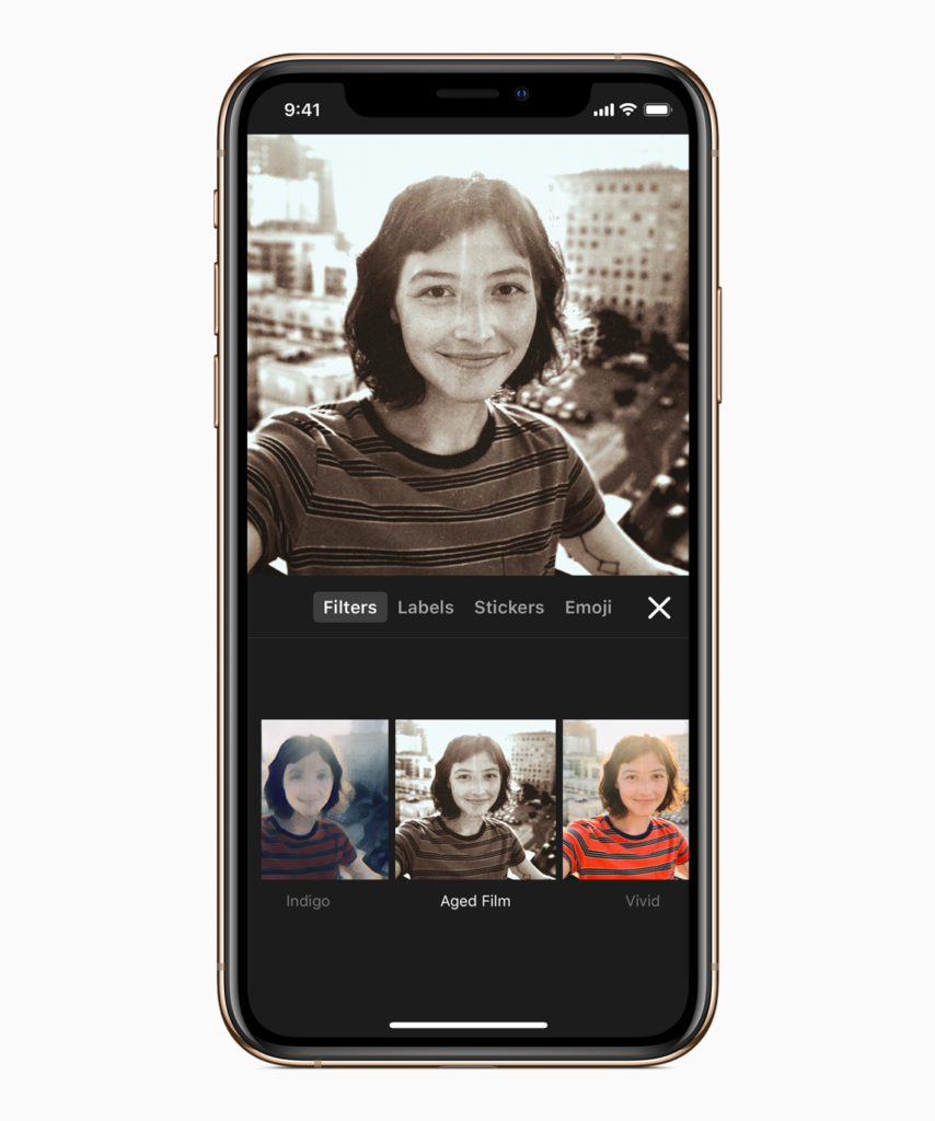 Apple updates its selfie app, Clips