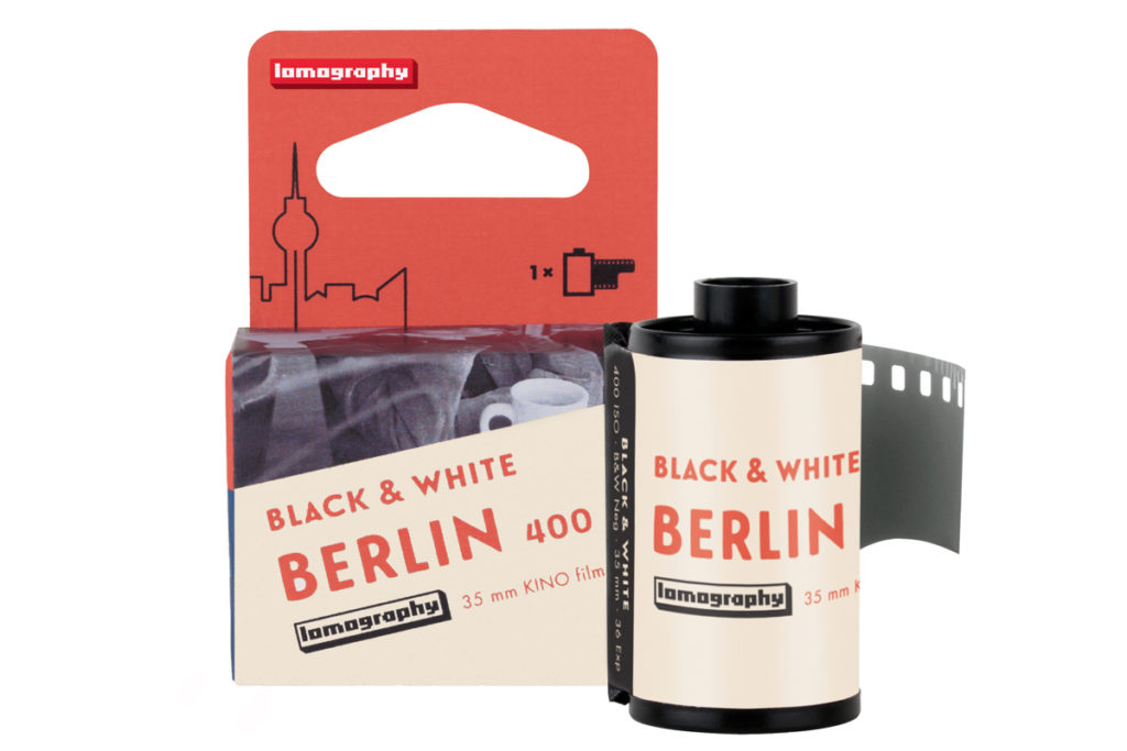 Lomography debuts black-and-white film made from German cine film