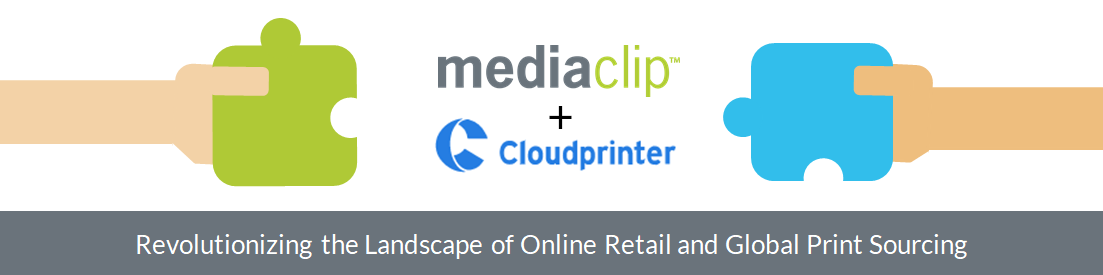 Mediaclip partners with Cloudprinter